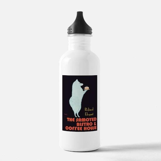 The Samoyed Bistro Water Bottle