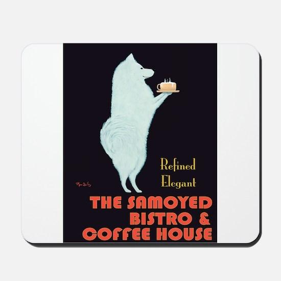 The Samoyed Bistro Mousepad