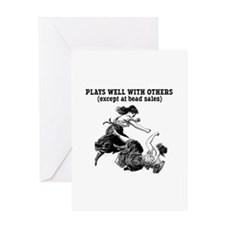 Bead Sales - Bead Crafts Greeting Card