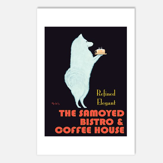 The Samoyed Bistro Postcards (Package of 8)