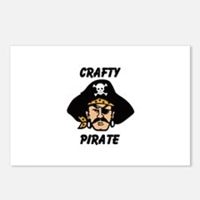 Crafty Pirate - Arts and Craf Postcards (Package o