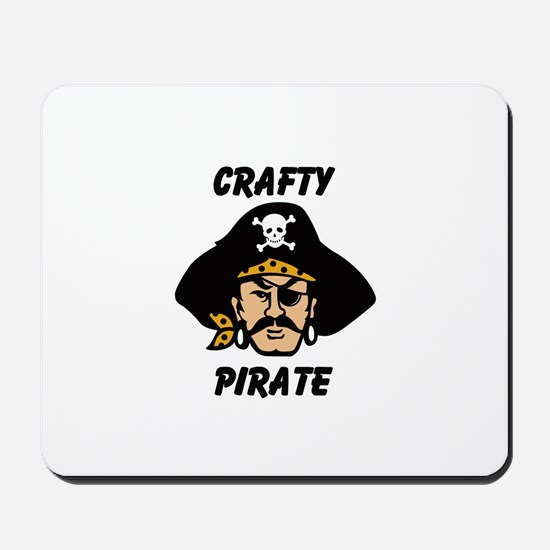 Crafty Pirate - Arts and Craf Mousepad