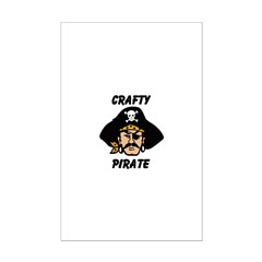 Crafty Pirate - Arts and Craf Posters