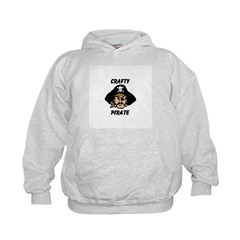 Crafty Pirate - Arts and Craf Hoodie