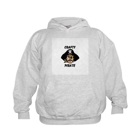 Crafty Pirate - Arts and Craf Kids Hoodie
