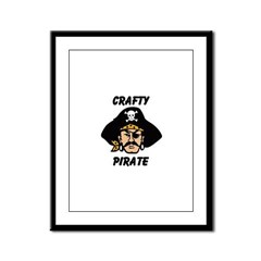 Crafty Pirate - Arts and Craf Framed Panel Print