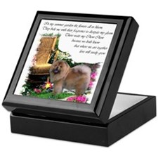Chow Chow Art Keepsake Box