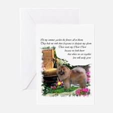 Chow Chow Art Greeting Cards (Pk of 10)