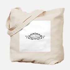 Cross Stitcher - Victorian Tote Bag