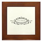 Cross Stitcher - Victorian Framed Tile