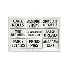 Bake Shop Rectangle Magnet