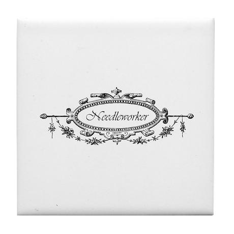 Needleworker - Victorian Tile Coaster