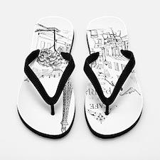 Cafe Paris Flip Flops