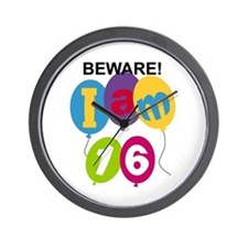 Beware 16th Birthday Wall Clock