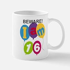 Beware 16th Birthday Small Small Mug