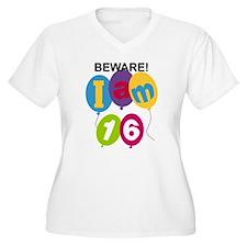 Beware 16th Birthday T-Shirt