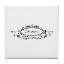 Seamstress - Victorian Tile Coaster