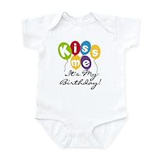Kiss Me Birthday Infant Bodysuit
