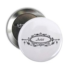 "Artist - Victorian Filigree 2.25"" Button (10 pack)"