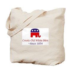Crusty Old White Men Tote Bag