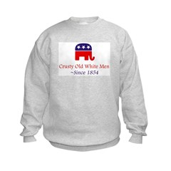Crusty Old White Men Sweatshirt