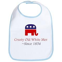 Crusty Old White Men Bib