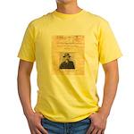 Reward Mysterious Dave Yellow T-Shirt