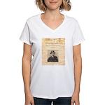 Reward Mysterious Dave Women's V-Neck T-Shirt