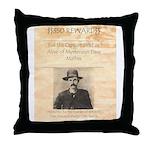 Reward Mysterious Dave Throw Pillow