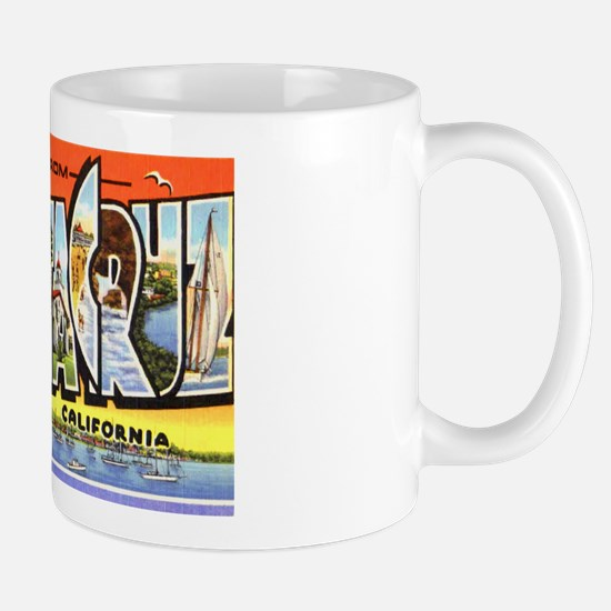 Santa Cruz California Greetings Mug