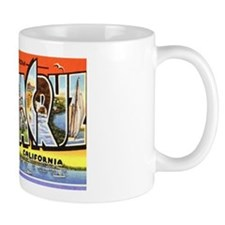 Santa Cruz California Greetings Mug