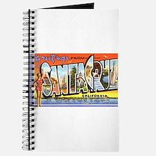 Santa Cruz California Greetings Journal