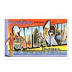 Santa Cruz California Greetings Postcards (Package