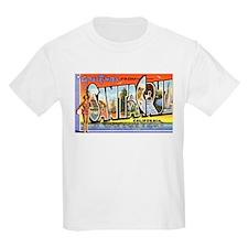 Santa Cruz California Greetings (Front) T-Shirt