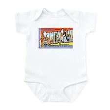 Santa Cruz California Greetings Infant Bodysuit