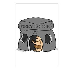 Blue Lodge goes Gray Postcards (Package of 8)