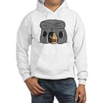 Blue Lodge goes Gray Hooded Sweatshirt