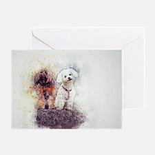 Unique Labrador retriever group Greeting Card