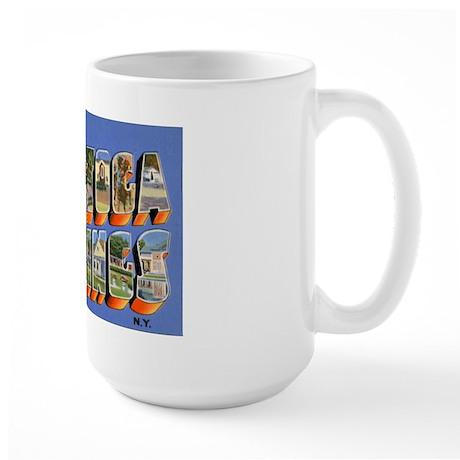 Saratoga Springs New York Large Mug