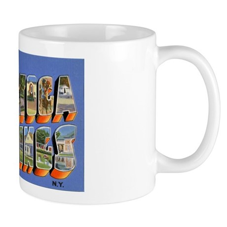 Saratoga Springs New York Mug