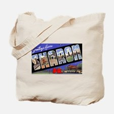 Sharon Pennsylvania Greetings Tote Bag
