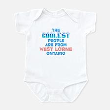 Coolest: West Lorne, ON Infant Bodysuit