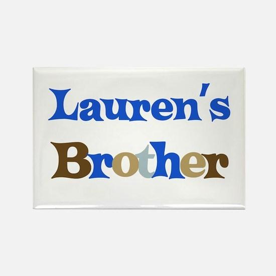 Lauren's Brother Rectangle Magnet