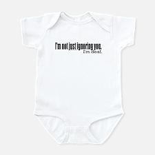 Ignoring you Infant Bodysuit