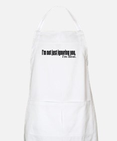 Ignoring you BBQ Apron