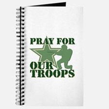 Pray for our troops Journal