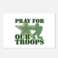 Pray for our troops Postcards (Package of 8)