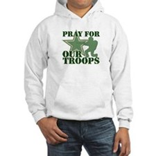 Pray for our troops Hoodie