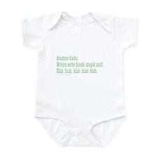 AMATEUR HAIKU Infant Bodysuit