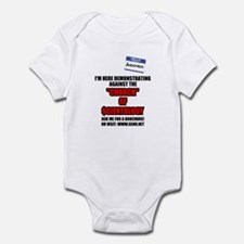 Why I Demonstrate? Infant Bodysuit